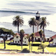 New Point Loma Lighthouse Art Print