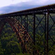 New River Bridge Art Print