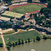 New Rochelle High School Aerial Photo Art Print