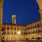 New Square, Vitoria Art Print