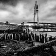 Northern Spire Bridge 6 Art Print