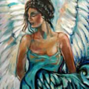 New Year's Angel Art Print
