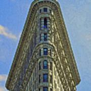 New York Architecture Render Art Print