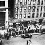 New York: Bank Run, 1930 Art Print