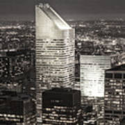 New York Citigroup Center  Art Print