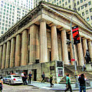New York City Federal Hall Art Print