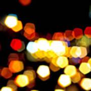 New York City Lights - My View Art Print