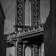 New York City - Manhattan Bridge Art Print