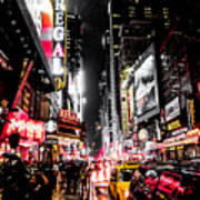 New York City Night II Art Print