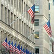 New York City Patriotism Art Print