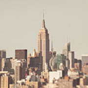New York City Skyline II Art Print