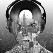 New York City Sound Art Print