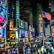 New York City Times Square Art Print