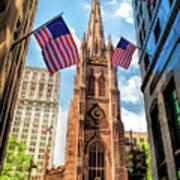 New York City Trinity Church Art Print