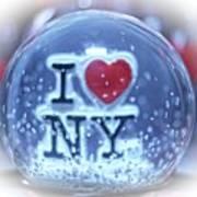New York Greetings  Art Print