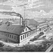 New York: Iron Works, 1876 Art Print