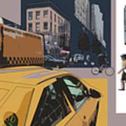 New York Jazz I Art Print