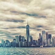 New York Lightleak Art Print