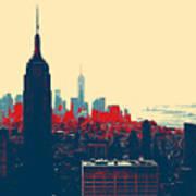 New York Manhattan Art Print