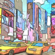 New York On A Sunday Art Print
