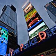 New York Police Department Art Print