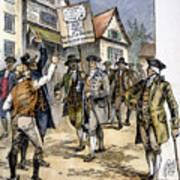New York: Stamp Act , 1765 Art Print