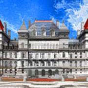 New York State Capitol Art Print