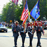 New York State Police Color Guard  5 Art Print