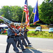 New York State Police Color Guard  6 Art Print
