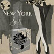 New York Style I Art Print