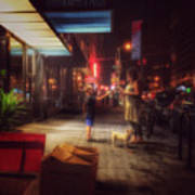 New York Summer Nights Art Print
