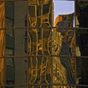 New York Sunset 1 Art Print