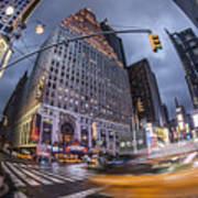 New York Time Square  Art Print