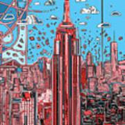 New York Urban Colors 2 Art Print