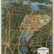 New York Worlds Fair 1939 Art Print