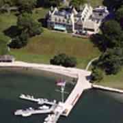 New York Yacht Club Harbour Court 5 Halidon Avenue Newport Ri 02840 3815 Art Print