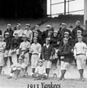 New York Yankees 1913 Art Print