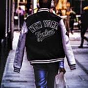 New York Yankees Baseball Jacket Art Print