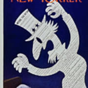 New Yorker April 11 1959 Art Print