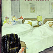 New Yorker December 29 1956painting Art Print