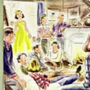 New Yorker January 7, 1950 Art Print