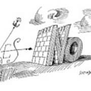 New Yorker May 28th, 1960 Art Print