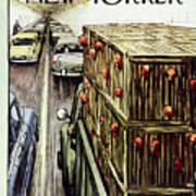 New Yorker November 17 1956 Art Print
