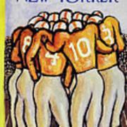 New Yorker October 25 1958 Art Print