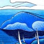 New Zealand Bay Art Print
