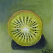 New Zealand Kiwi Art Print