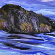 Newfoundland Oil Painting Art Print
