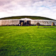 Newgrange Morning Art Print