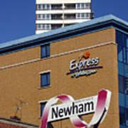 Newham Express Art Print