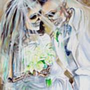 Newly Deads Art Print by Heather Calderon